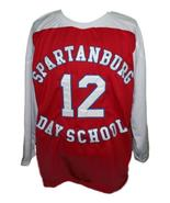 Zion Williamson Spartanburg Day School Hockey Jersey New Red Any Size - $54.99+