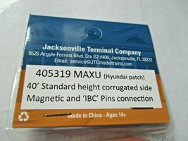 Jacksonville Terminal Company # 405319 MAXU 40' Standard Container (N) image 2