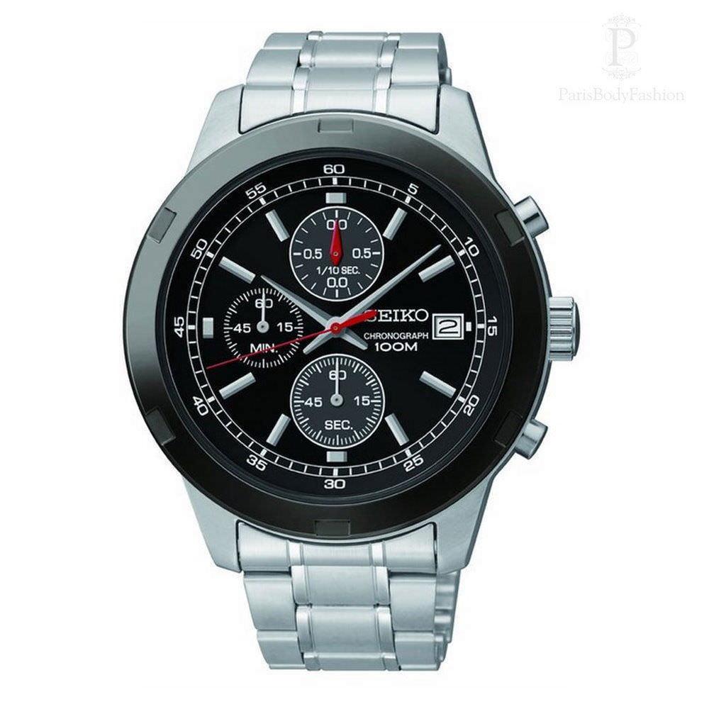 Seiko - SKS427P1 - Men's Chronograph Watch - Stainless Steel Grey Dial - $148.45