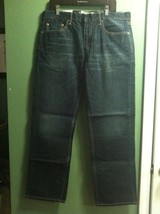 LEVI'S MENS NEW JEANS RELAXED FIT STRAIGHT LEG 100% COTTON SIZE 36/32 - $37.40