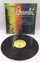 Walt Disney's Bambi-Original Movie Soundtrack LP IN SHRINK yellow Label - $14.24