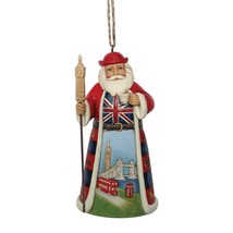 British Santa Hanging Ornament from Jim Shore Around the World Collection