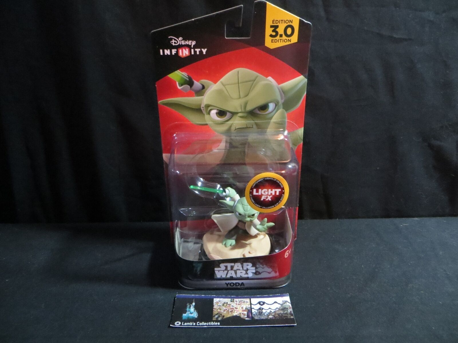 Primary image for Disney Infinity 3.0 Star Wars Light Fx action figure Yoda Video game accessory