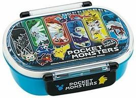 Skater children's lunch box 360ml Pokemon Sun and Moon made in Japan QA2BA - $23.41