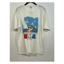 Vintage 1987 SNOOPY T-Shirt PEANUTS Single Stitch Deadstock NWT USA Arte... - $79.99