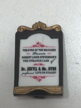 Department 56 Dickens Village The Strange Case of Dr Jekyl & MR HYDE Sign 23876 - $7.56