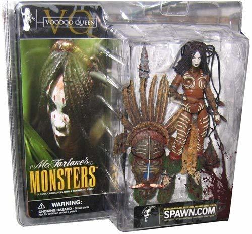 McFarlanes Monsters Series 1 Voodoo Queen (Bloody) Action Figure by McFarlane/Mc
