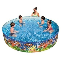 Inflatable Swimming Pool Kids Pool Family Swim Easy Set Up And Fill - Se... - $54.23