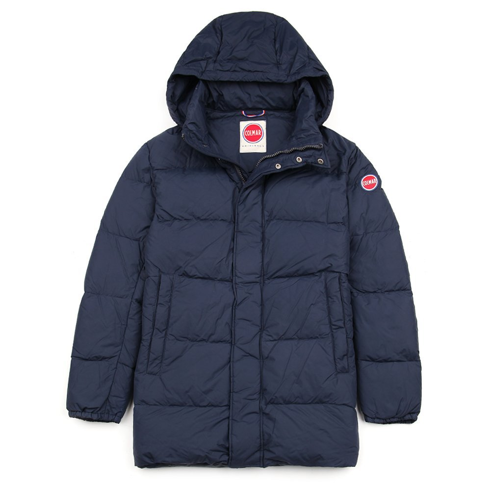 Colmar Men's Down Jacket Eighties 1218-70R-68 Navy SZ 50