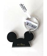 Walt Disney World Mickey Mouse Ears #1 Boss Metal Keychain NEW - $17.90