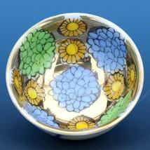 Vintage Open Salt Dip Cellar Hand Painted Japanese Sauce Dish CCC image 1