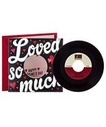 Hallmark Valentine's Day Card with Kelly Clarkson Vinyl Record Real 45 R... - $9.23