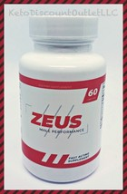 ZEUS Male Enhancement Performance Supplement 60ct Adds Stamina Strength & Size!  - $49.95