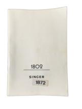 Singer 1802 Sewing Machine Instruction Manual - $14.85