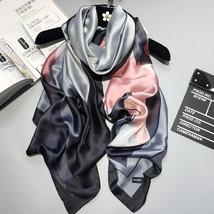 2018 luxury brand Women Silk scarf Beach Shawl and Echarpe Luxurious Wra... - $19.80