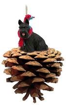Conversation Concepts Scottish Terrier Pinecone Pet Ornament - $16.99