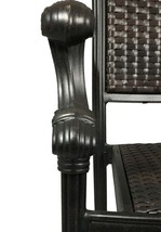 Patio bistro table and chairs outdoor swivel rocker chair set cast aluminum image 2