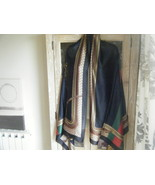 gorgeous GUCCI scarf shawl wrap 100% silk new 6FT X 3FT GENUINE - $66.50