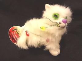 MEANIES SHOCKING STUFFERS ~ BLINKEY the CAT 1999~STUFFED PLUSH TOY~NEW w... - $12.16