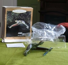 Hallmark Star Trek Klingon Bird of Prey Christmas Ornament in Box Flicke... - $9.95