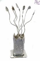 RELIGIOUS EDH silver plated Tulsi Spirituality pooja Item religion item ... - $11.29