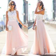 New Women Sexy Summer Lace Maxi Long Dress Evening Party Prom Dress Sundress Chi - $22.00