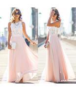 New Women Sexy Summer Lace Maxi Long Dress Evening Party Prom Dress Sund... - $22.00