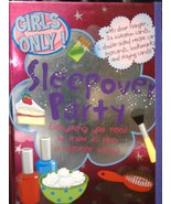 Sleepover Party (Girls Only) Delmege, Sarah; Neale, Kirsty and Enright, ... - $16.54