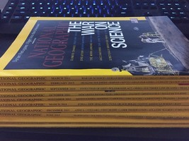 National Geographic Magazine Lot Of 10 - $10.00