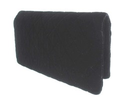 CHANEL Large Pouch Velour Black Clutch Bag A69391 CC Italy Authentic 551... - $1,087.87
