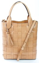 MICHAEL KORS Vivian GRANDE NORTH SOUTH ARACHIDI pelle marrone borsa - $354.20