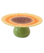 Sunflower Cake Stand, Helianthus Annuus by Boston International - $49.45