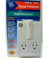 GE Surge Protector,  6 outlets- 2 Front, 4 Side, UL Listed, SU93930 New! - $7.83