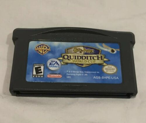 Nintendo Game Boy Advance 2003 Harry Potter Quidditch World Cup Cartridge ONLY