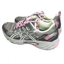 Asics Gel Venture 5 T5N8N Womens Size 8 M Gray Pink Running Trail Shoes - $29.95