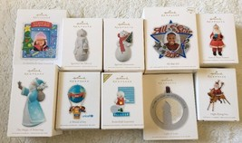 Hallmark Keepsake Christmas Ornaments Lot Of 10 New In Boxes - $29.70