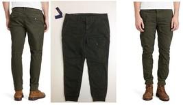 $185  Ralph lauren Men's Mill Olive Pants & Jeans Straight-Fit Cargo Pant 36 X32 - $98.99