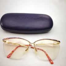 06acbe7711 Tura Women Rx Eyeglass MOD 440 VIO 61-12-140 Half Rim Frames Case