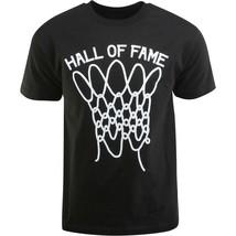 Hall Of Fame Hof Hombre Negro Nothing But Red Baloncesto Tiro Camiseta Nwt