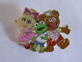 Disney Trading Pins  MUPPET BABIES - KERMIT FOZZIE MISS PIGGY - $9.50