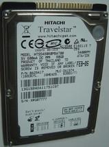 "NEW Hitachi HTS548080M9AT00 80GB 2.5"" IDE Hard Drive Free USA Shipping"