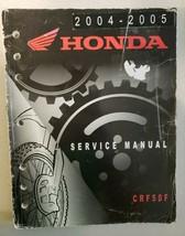 2004 2005 Honda CRF50F Factory Service Manual 61GEL51 - $33.24