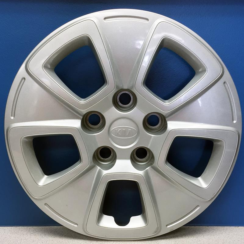 """Set of 4 Silver 5 Spoke 15/"""" Wheel Covers for 2016-2018 Chevy Cruze L//LS"""