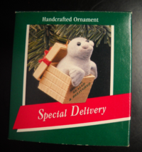 Hallmark Keepsake Christmas Ornament 1989 Special Delivery Seal In Box B... - $7.99