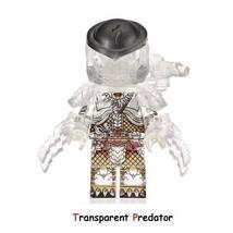 The Movie Series Transparent Predator Minifigure Single Sale Lego Blocks Toys - $2.70