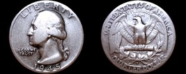 1945-S/S Washington Quarter Silver - $29.99