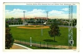 American Rolling Mills Baseball Park Athletic Field Postcard Middletown ... - $10.89