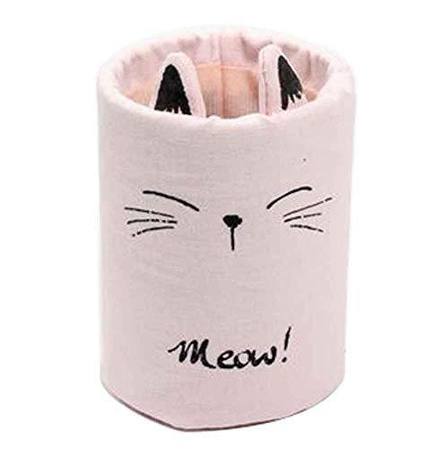 Creative Pencil Holders Canvas Pencil Organizer for Office School [A]