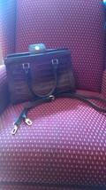 Women's Faux Leather Tote w/Crossbody Strap Merona - $14.03