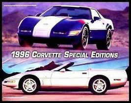 1996 Corvette Special Edition Brochure Grand Sport - $7.11